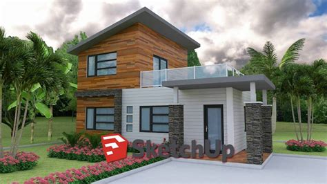 sketchup house plan sketchup model house 03 drawing from photo layout plan sketchup home design video