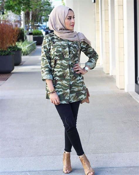 Jumpsuit Wanita Motif Army 7 inspirasi busana a la militer yang disulap jadi gaya