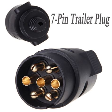 7 pin trailer 7 pole wiring connector 12v towbar