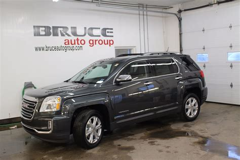 gmc terrain 6 cyl new 2017 gmc terrain slt 3 6l 6 cyl automatic awd for sale