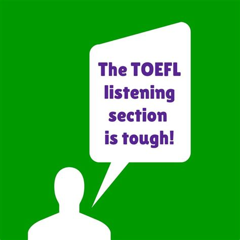 toefl listening section many students find the toefl listening section difficult
