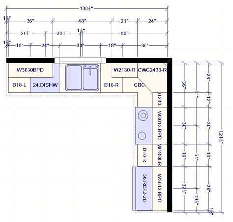 kitchen layout best best l shaped kitchen layout