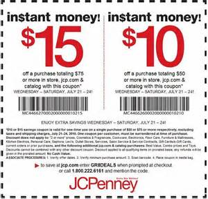 Coupon Code Jcpenney Coupons In Store Code Printable Agustus 2017