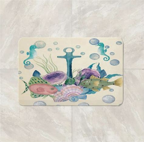 nautical bath rug 25 best ideas about nautical bath mats on cotton rugs navy blue rugs and cotton mats