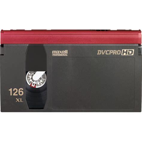 maxell cassette maxell dvp 126exl dvcpro hd cassette large