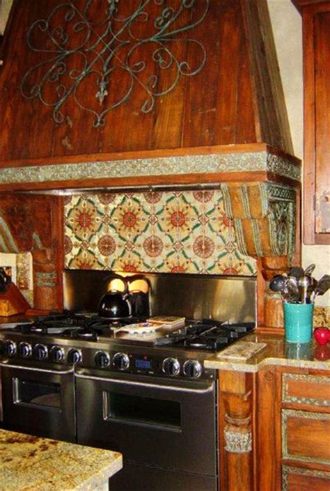 spanish tile kitchen backsplash pin by jennifer baker on home pinterest