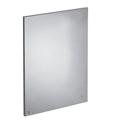 anti steam bathroom mirror ideal standard senses space 500 mirror with anti steam