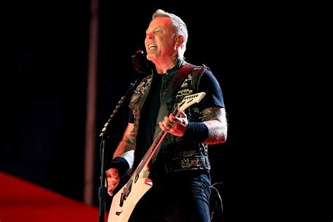 Hetfield Metallica hetfield i need to see motorhead rock induction