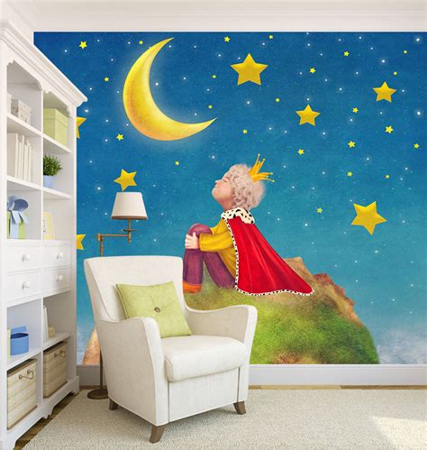 home decor wall murals 3d prince 344 wall murals wallpaper decal decor home nursery mural ebay