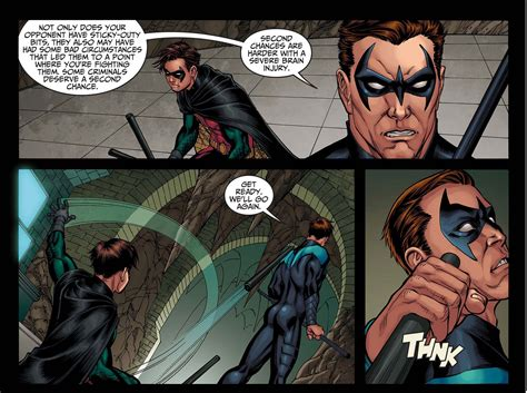 grayson skovgaard doing it god s way books nightwing s advice on fighting criminals comicnewbies