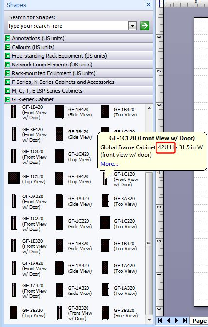 visio number shapes visio rack stencils with u numbers