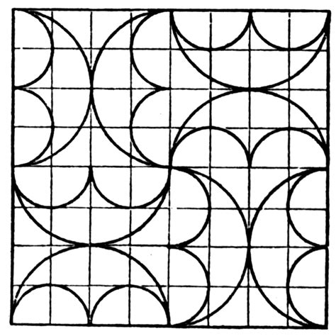 tessellation patterns coloring pages tessellations to color printable