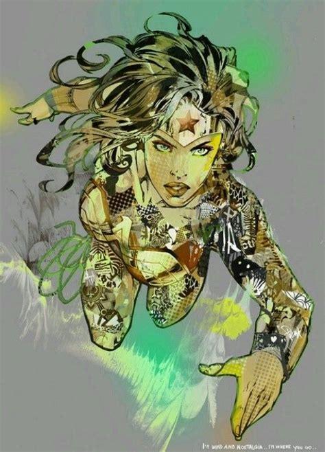 hottest comic book artists wonder woman by giulio lurissevich www comicaddictz
