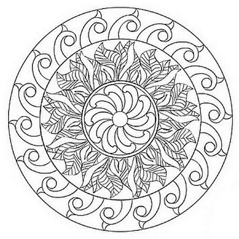 spring printable mandalas cool images