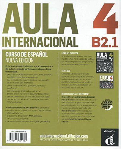 aula internacional 4 libro 3125157455 libro aula internacional nueva edicion libro del alumno con e book con espansione online
