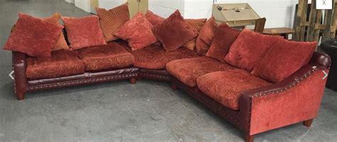 feather sofa cushions uk vintage tetrad leather fabric corner sofa with duck