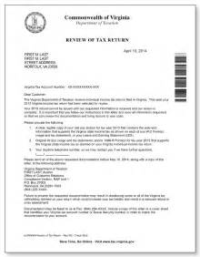tax refund letter template virginia department of taxation review of tax return letter