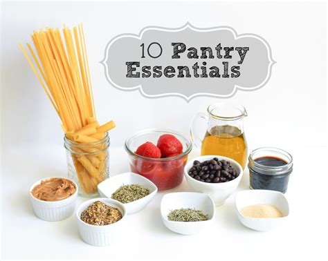 Essential Pantry Items by 10 Essential Pantry Items Bites For Foodies