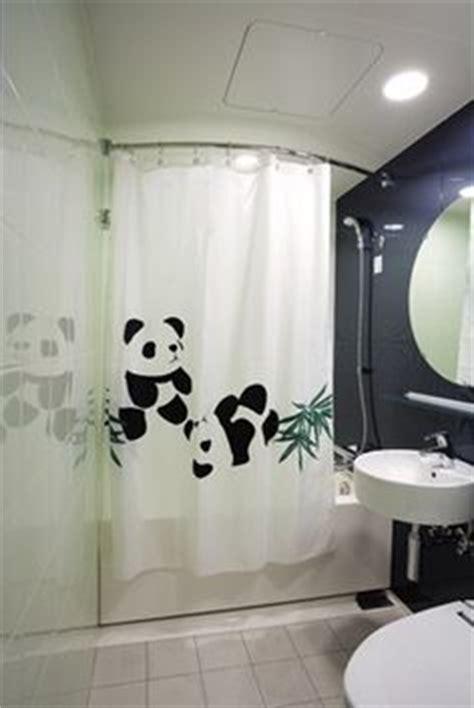 panda room panda bathroom at mitsui garden hotel ueno shower curtain