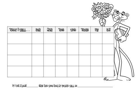 behavior chart template for teachers 7 best images of printable behavior charts for teachers