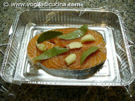 cucinare trancio di salmone trancio di salmone in carta fata ricetta