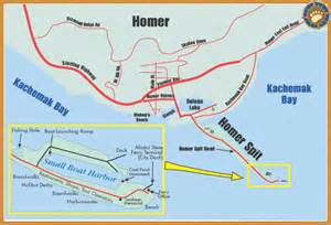 Map Of Homer Alaska by Object Moved