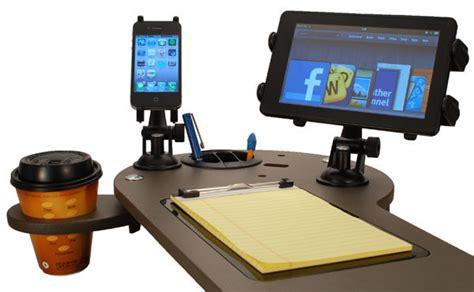 Custom Car Mobile Office Vehicle Workstation Journidock Mobile Office Car Desk Workstations