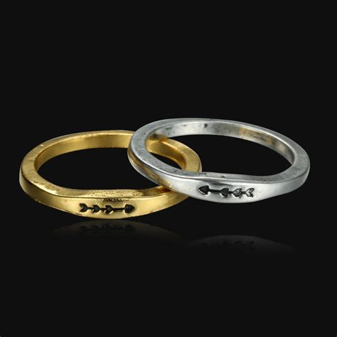 simple engraved ring fashion silver gold formal
