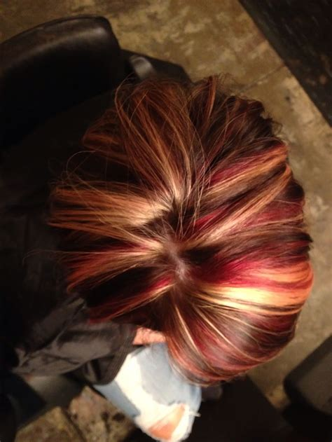 hair color different reds fall hair color red blonde and dark brown i dont like