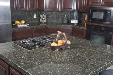 Cheap Ideas For Kitchen Backsplash by Granite Tile Vs Granite Slab Countertops Countertop Guides