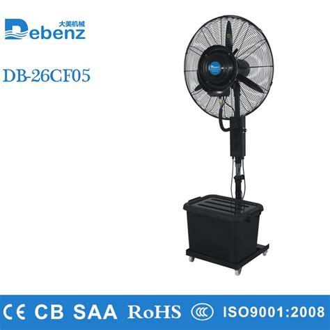 industrial fan with water spray 26inch wall mounted industrial water mist fan with 100