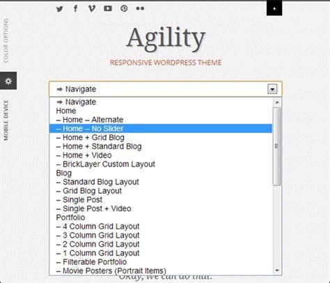 select layout wordpress responsive select menu wordpress plugin