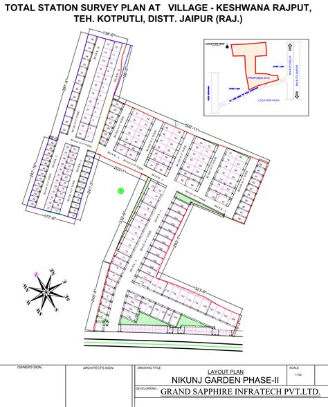 layout plot plan 900 sq ft plot for sale in grand sapphire nikunj garden