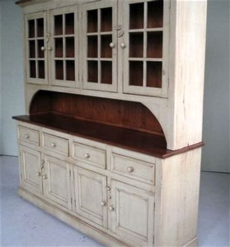 Country Style Hutches country style white kitchen hutch ecustomfinishes