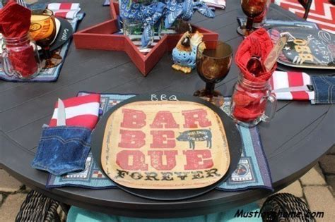 Backyard Bbq Tablescapes Perpetual