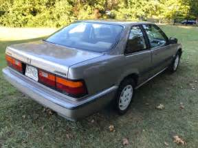 1989 honda accord lxi coupe 2 door 2 0l 89k no