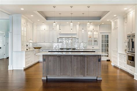 Custom Kitchen Island by Coastal Dream Kitchen Brick New Jersey By Design Line Kitchens