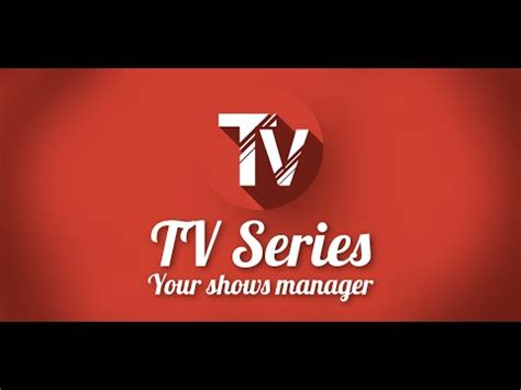 tv shoes tv series your shows manager apps on play