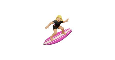 emoji film surfer pistool geld female surfer ios 10 new emoji popsugar tech photo 8