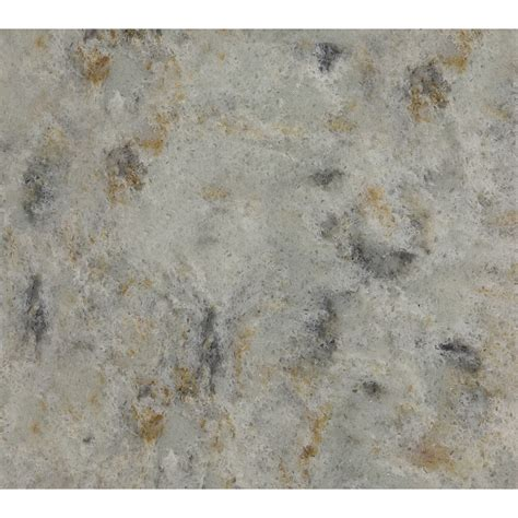Lowes Quartz Countertop by Shop Allen Roth Titanium Swell Quartz Kitchen Countertop
