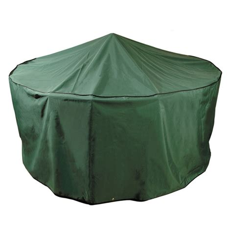 Large Patio Set Cover by Bonsoni Green Premium 6 8 Seater Large Circular