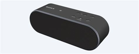 Speaker Sony light portable wireless speaker srs x2 sony uk