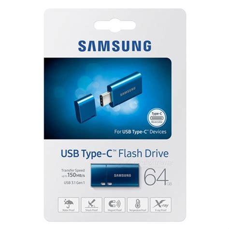 Flashdisk Samsung 2gb T1910 3 samsung 64gb usb type c usb 3 1 flash drive 150mb s blue