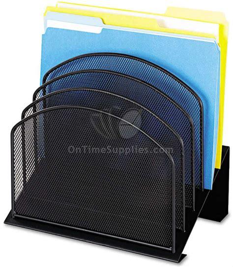 safco onyx mesh desk organizer mesh file organizers by safco 174 onyx ontimesupplies com