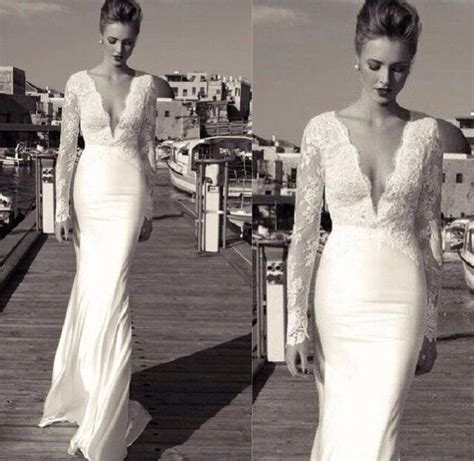 tight wedding dresses tight sleeved lace wedding dress wedding