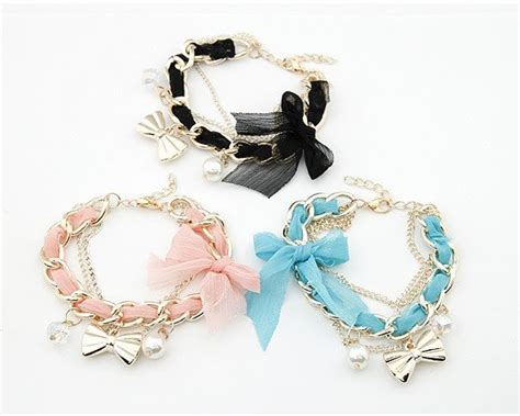 Ikat Rambut Korea Aksesoris Rambut Model Bow 3005 Free Shipping Korean Fashion Lace Bow Prepare Delicate