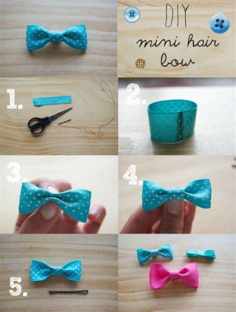 How To Make Handmade Hair Bows - 30 and easy to make hair bows diy projects