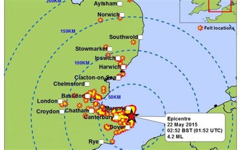 earthquake often happens around us britian s largest earthquakes over time why do they