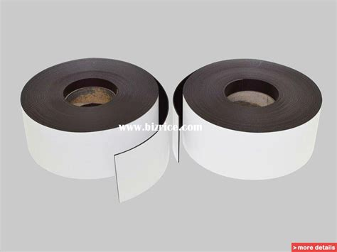Rubber Magnet extruded magnetic 3m adhesive 12 7 0 4 1 5 2 0 mm pop display steel 0 18mm