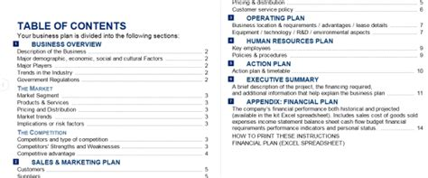 barclays business plan template business plan barclays